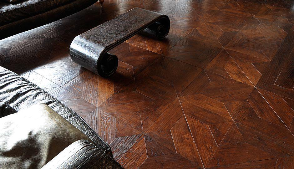 complex wood floor