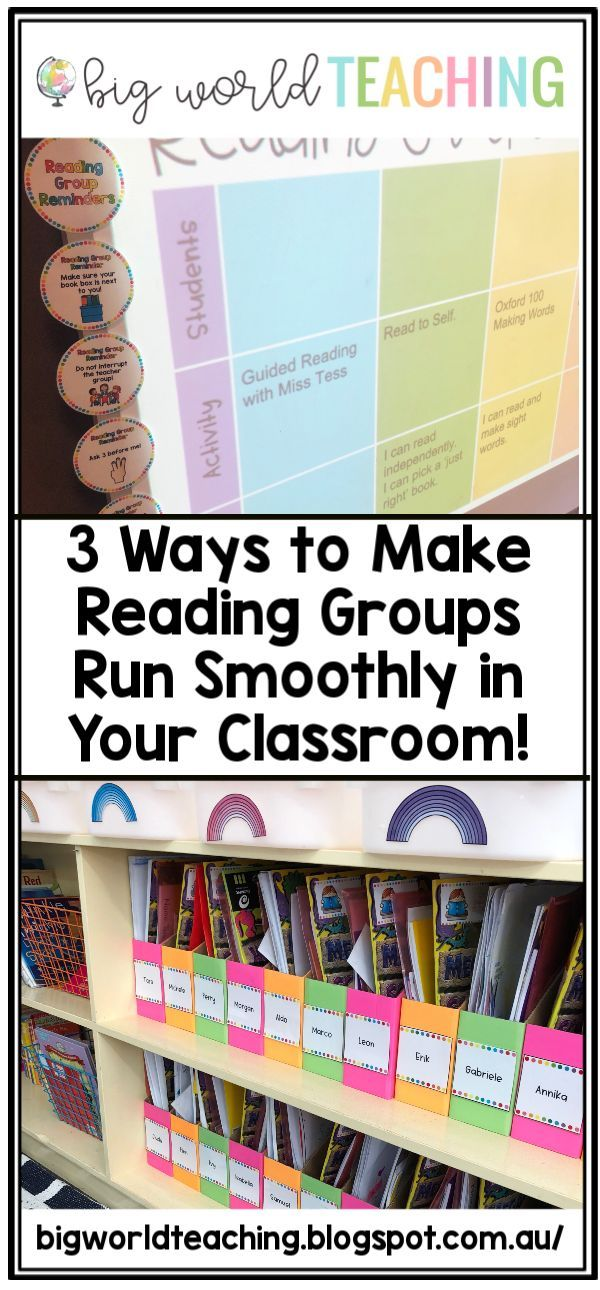 how to set up a reading group