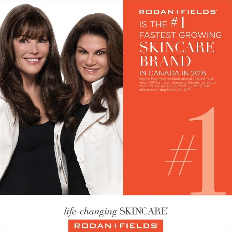 Rodan Fields Is The 1 Fastest Growing Skincare Brand In Canada Source Euromonitor Internation Rodan Fields Skin Care Rodan And Fields Life Changing Skincare
