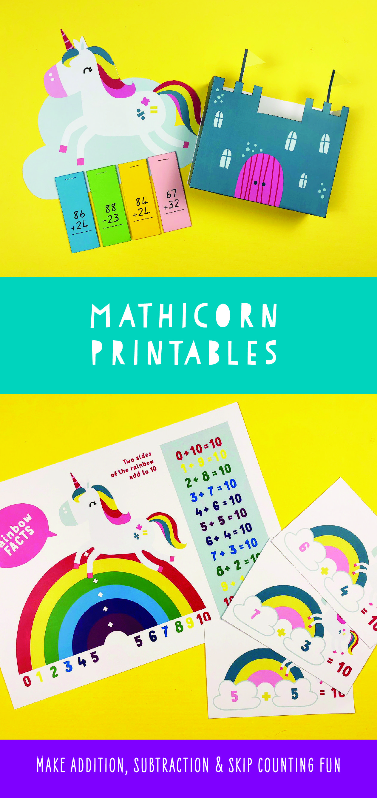 Help Your Kid With Maths With These Cute Printables