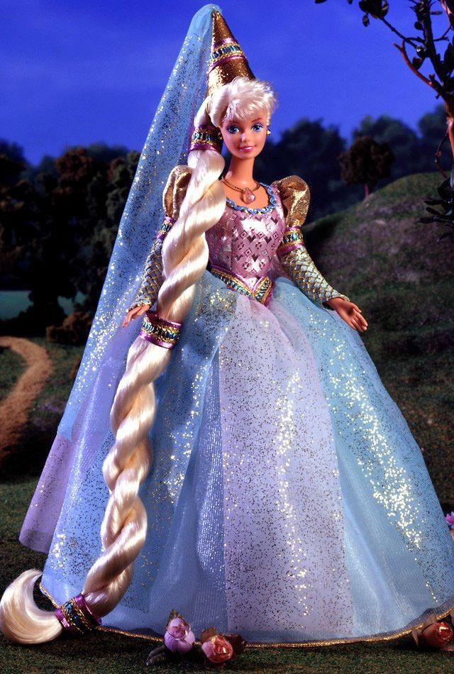 Barbie Doll as Rapunzel 1994