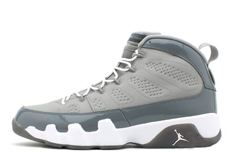 Air Jordan 9 Retro Medium GreyCool GreyWhite Size 3647