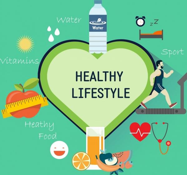 صور عن الصحة صور مكتوب عليها عبارات عن الصحة المميز Healthy Lifestyle Infographic Healthy
