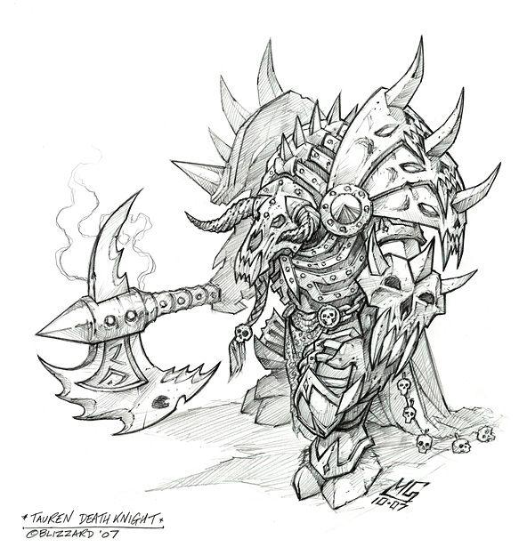 Pin by Robert Biddle on Tattoos Warcraft art, World of
