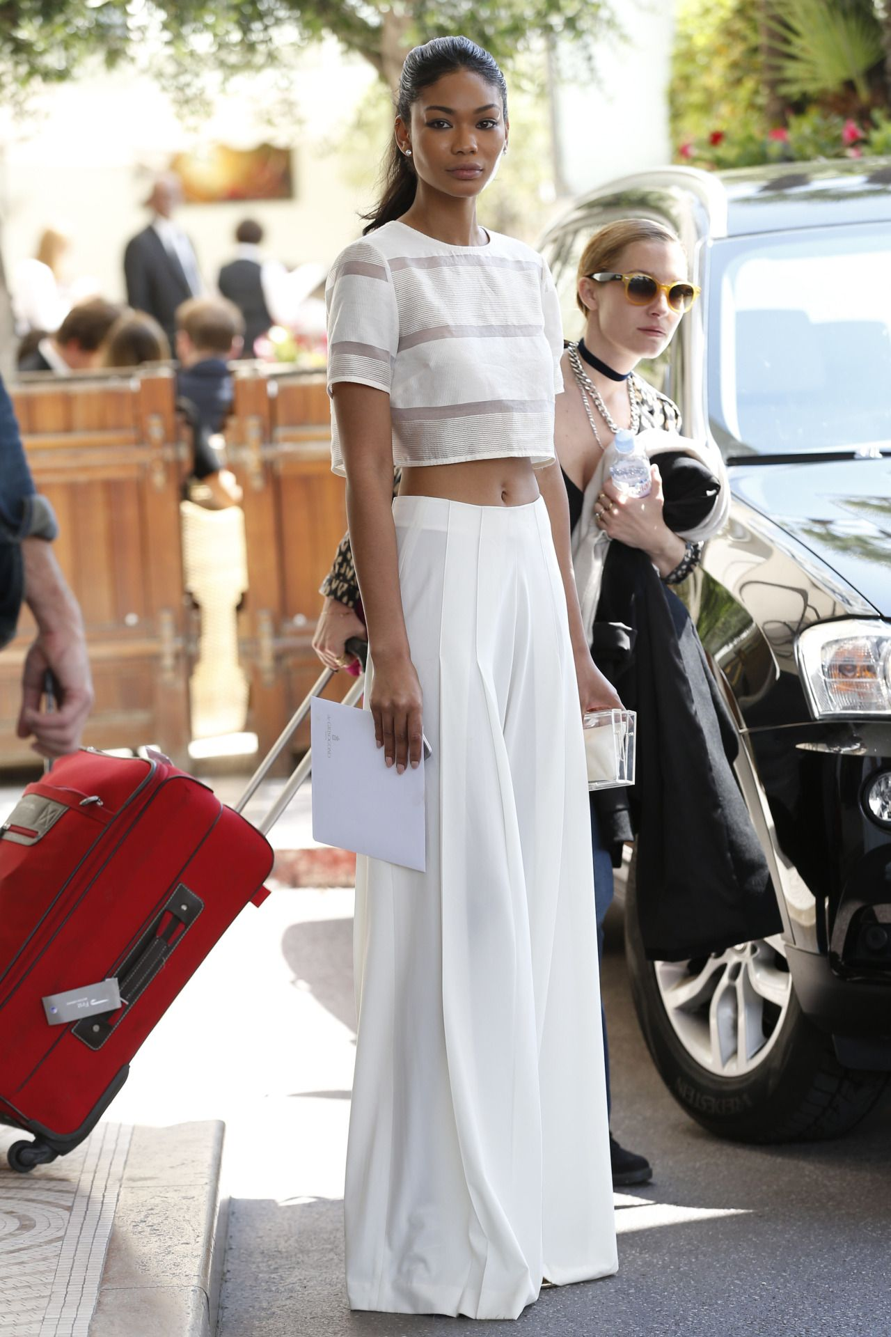 Celebritiesofcolor Chanel Iman Martinez Hotel In