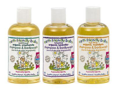 Earth Friendly Baby Shampoo & Body Wash 2 in 1-Σαμπουάν και Αφρόλουτρο 2 σε 1  Οργανικά Φυσικά συστατικά για ένα πεντακάθαρο μωράκι!  6,70€
