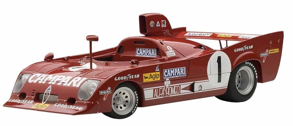 Die cast 1//43 Alfa Romeo 33 TT12 1000KM Nurburgring 1975