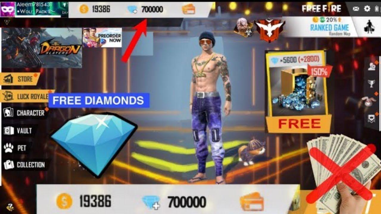 Free Fire Generator 2021 Unlimited Diamonds In 2021 Free Fire Hack Diamond Garena Free Fire Hack Diamond Free