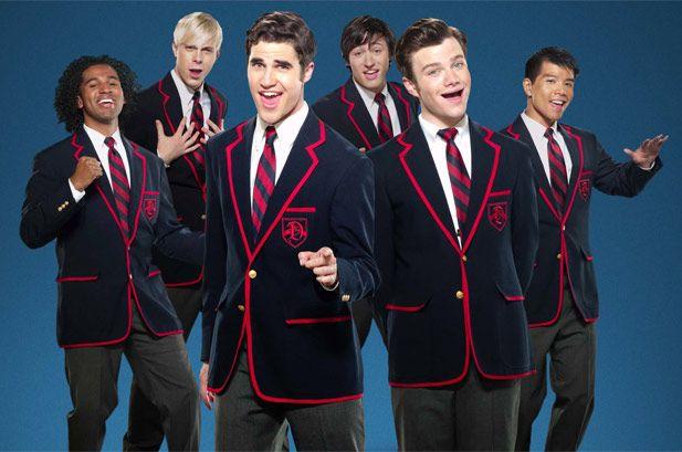 Www Glee Riker Carter Kiss: Klaine/Darren Criss/Chris Colfer