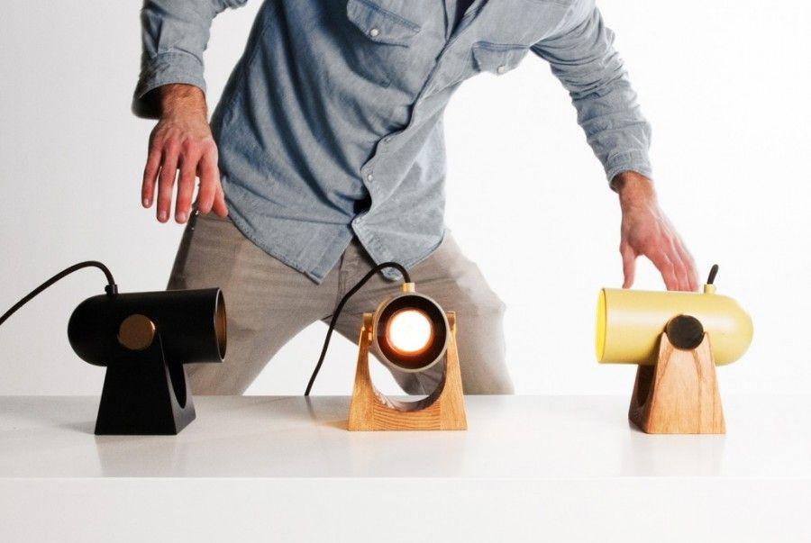 Стилизованные под пушки лампы от дизайнера Markus Johansson