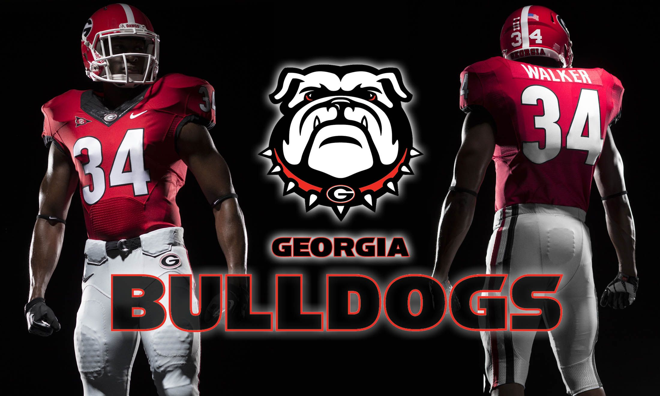 Hd Georgia Bulldogs Wallpaper Georgia Bulldogs Football Georgia