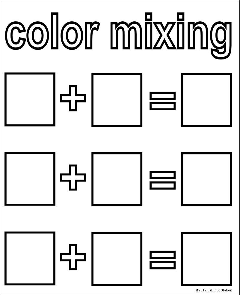 Betsy Stout Over At Notebooking Nook Has Created A New Link Up For Sharing Freebies Every Friday Here Are The Rule Color Mixing Color Lessons Preschool Colors