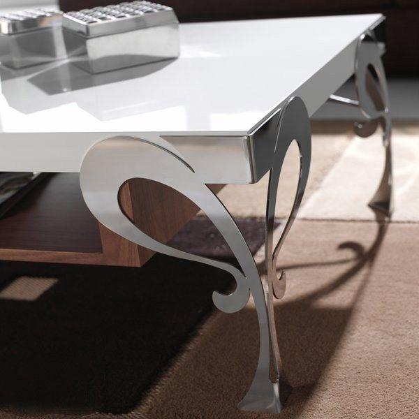 #decoracion #mesa de centro con Patas de forja
