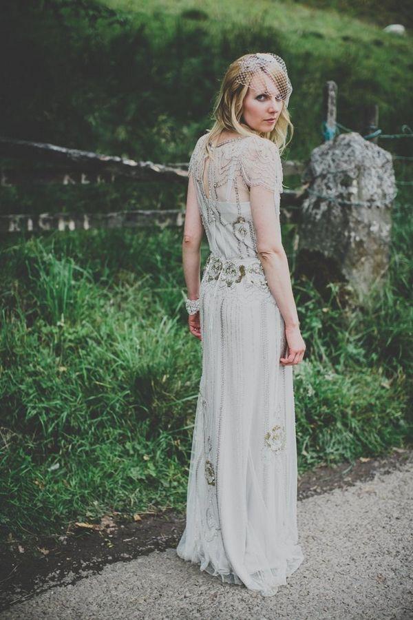 Bride wearing Jenny Packham \