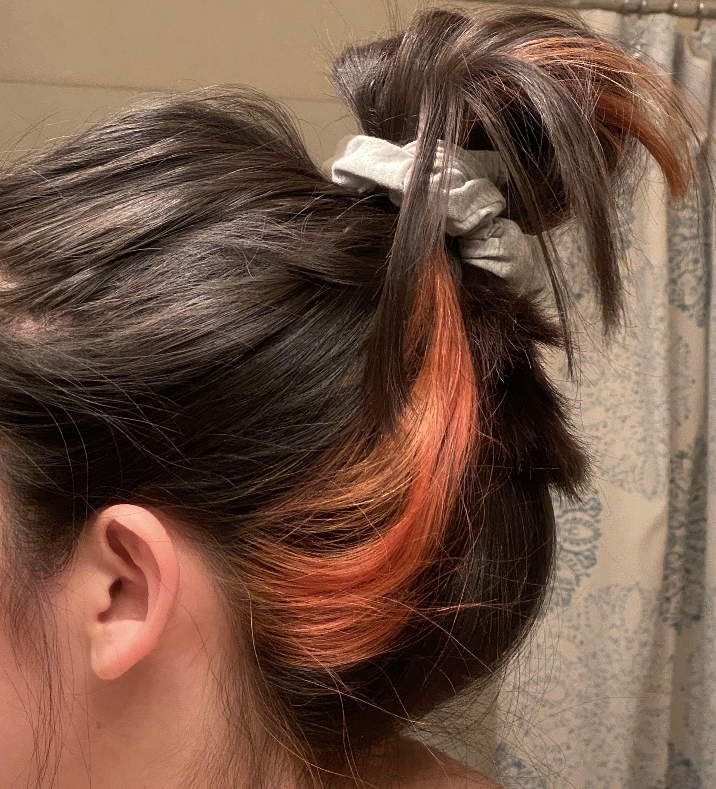 Color Streak In Hair In 2020 Hair Streaks Hair Color Streaks Pink Hair Streaks