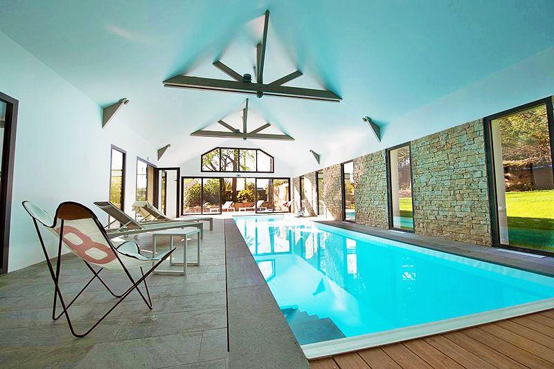 Espace spa bien tre au manoir des eperviers chambres d - Chambre d hote couleur bois et spa ...