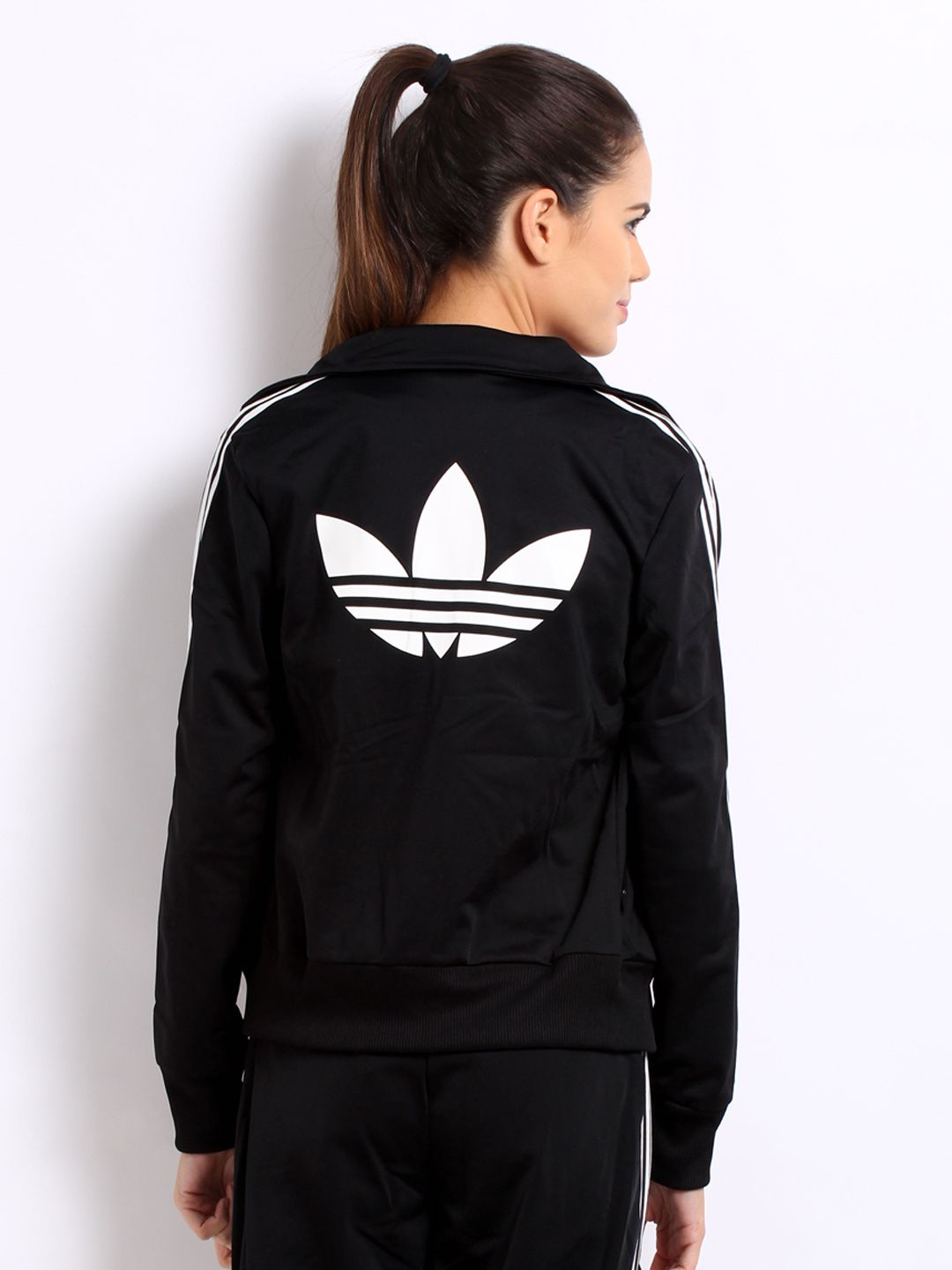 womens adidas originals superstar track top