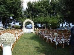 Baia dei Cesari_cerimonia in giradino | Ville per matrimoni ...