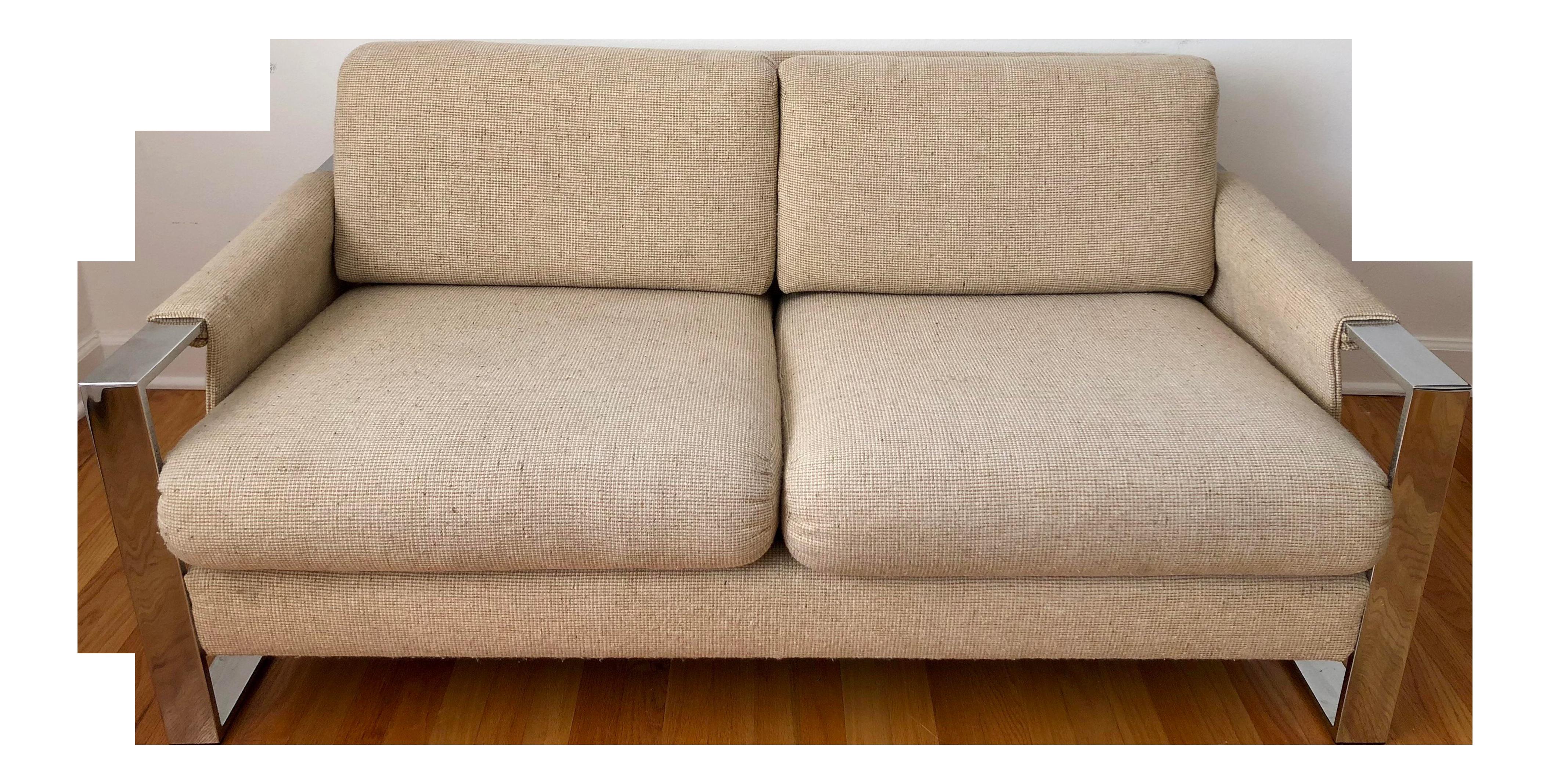 Astounding 1960S Mid Century Modern Milo Baughman Loveseat Sofa Uwap Interior Chair Design Uwaporg