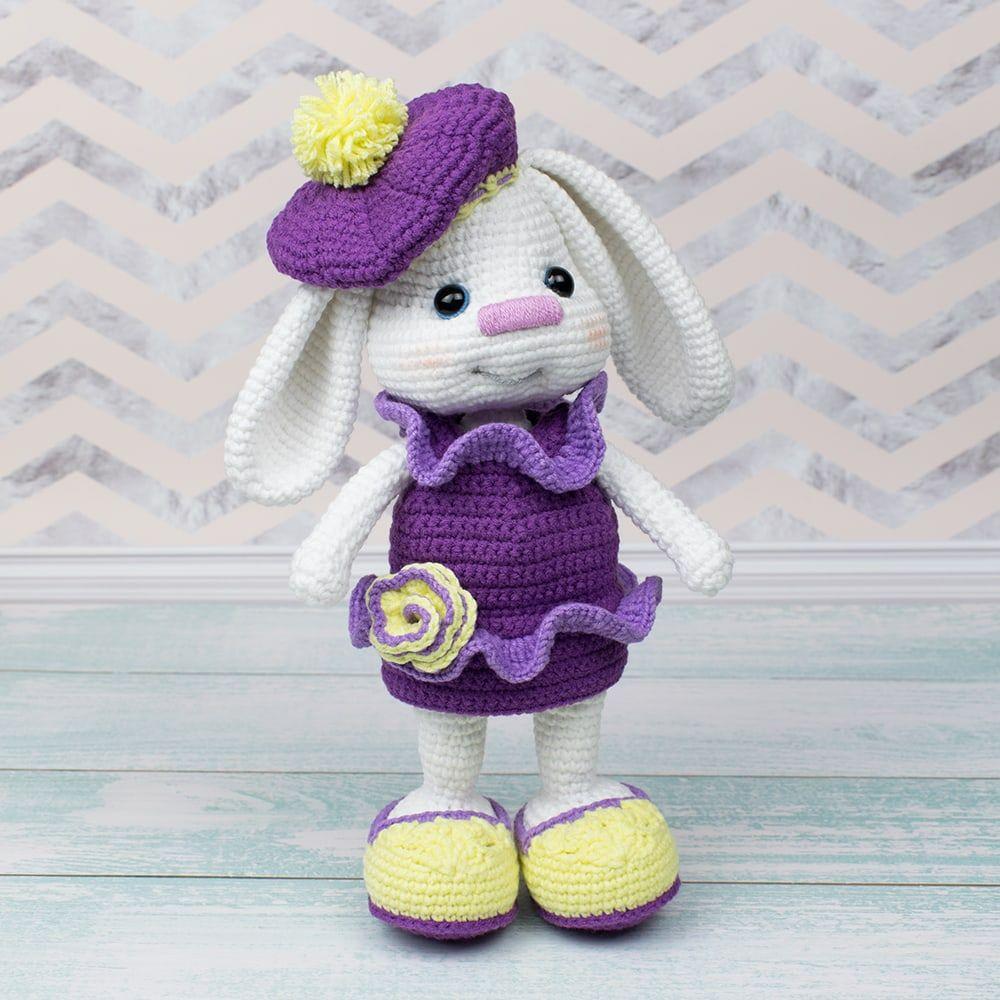 Pretty Bunny with floppy ears - Crochet Pattern - Amigurumi Today ...