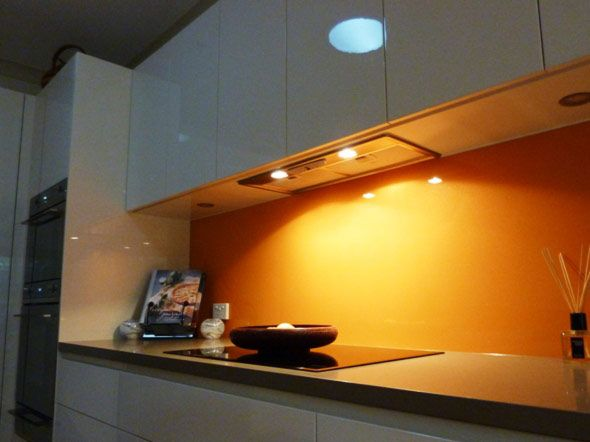 Kitchen Design Orange Fair Lacobel#kitchen#design#home#splashback#  Simpas  Pinterest Decorating Design