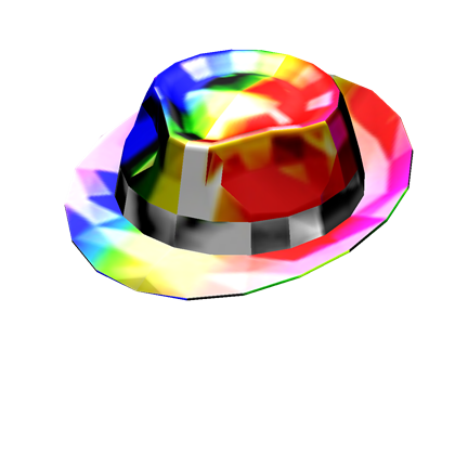 Free Rainbow Sparkle Time Fedora 200k Roblox Roblox Gifts Roblox Roblox Pictures