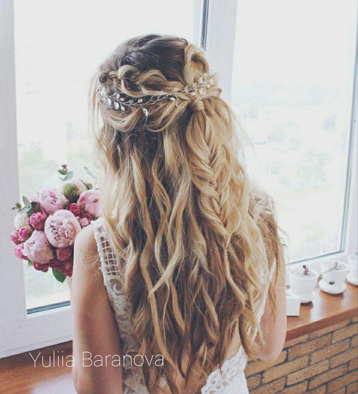 17 X De Mooiste Gevlochten Haarstijlen Voor Bruiden Met Lang Haar Hochzeitsfrisur 2019 Pinterest Frisuren Haare Hochzeit Frisur Braut