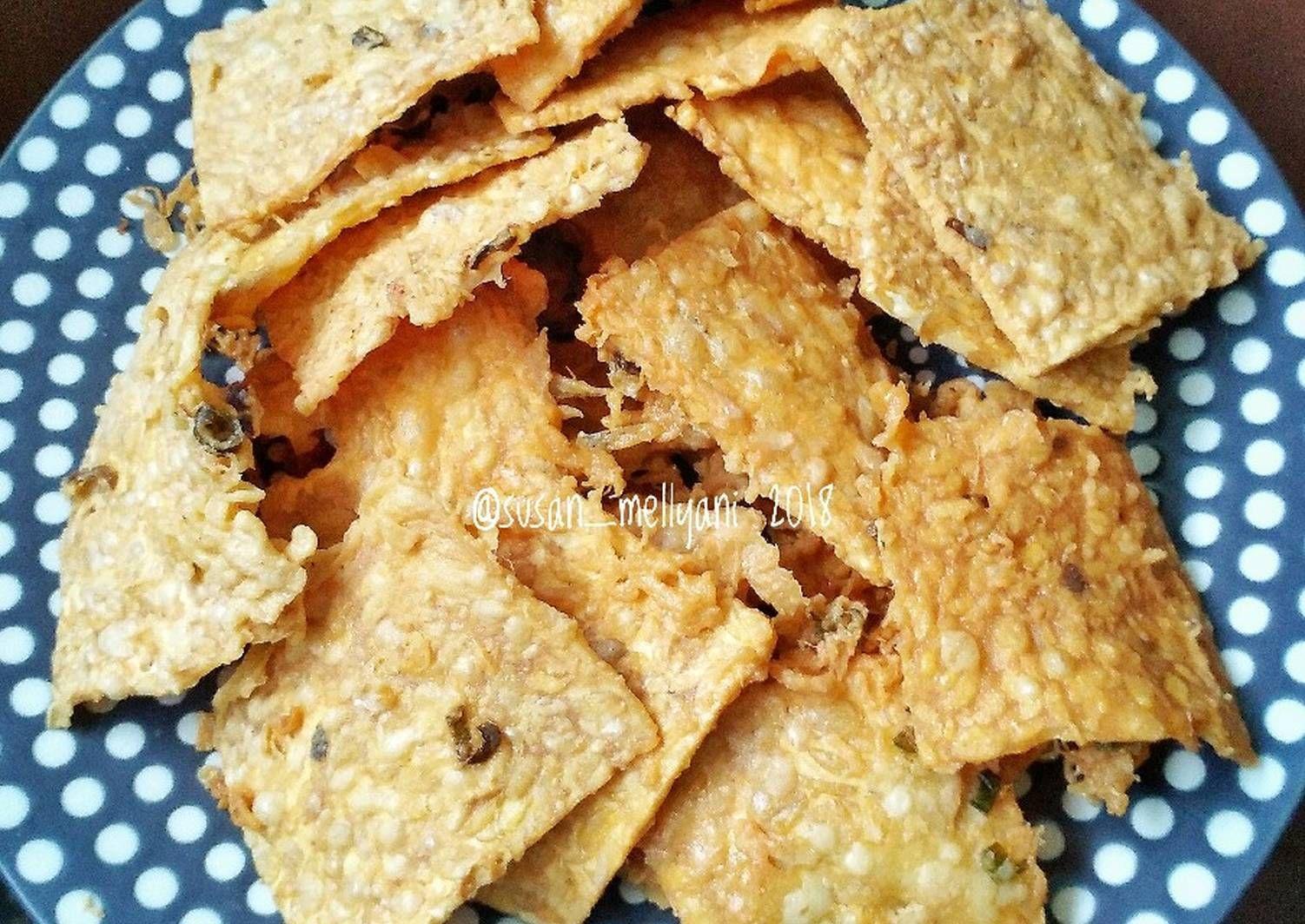 Resep Tempe Kriuk Ala Abang Gorengan Oleh Susan Mellyani Resep Resep Makanan Resep Tempe Makanan