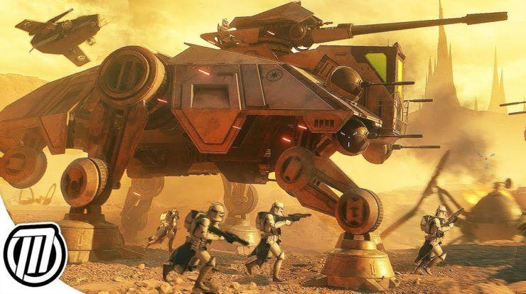 Star Wars Battlefront 2 Huge Battle Of Geonosis Star Wars