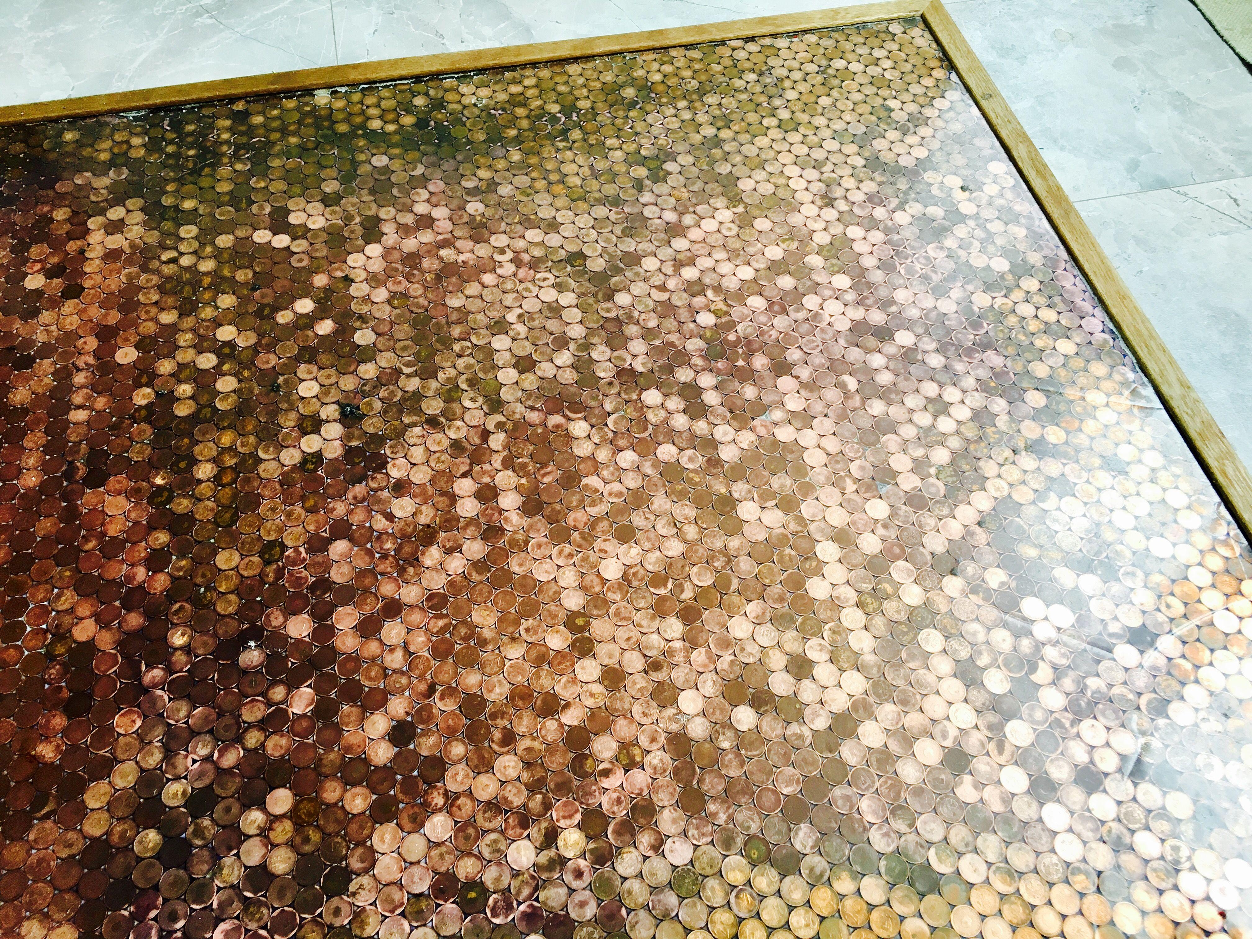 pin by debbie de jong on munten vloer pinterest