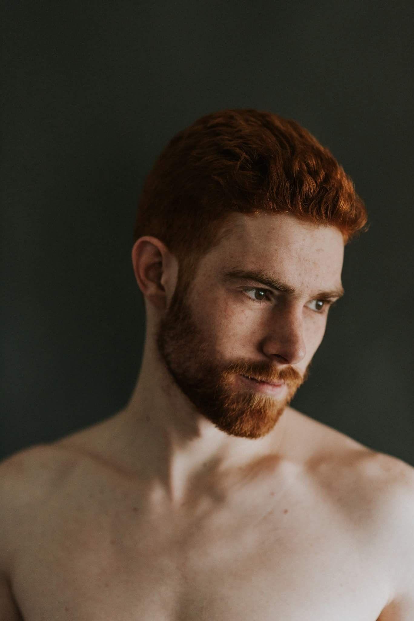 Male model ginger List of