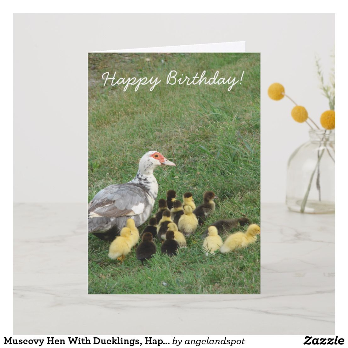 Muscovy Love Greeting Card