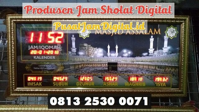 Jadwal Sholat Digital Di Lubuk Linggau Wa 0813 2530 0071 Pembuat