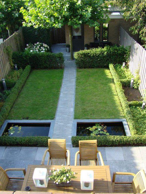 gartenideen für kleine gärten geräumig und elegant | tuin, Gartenarbeit ideen