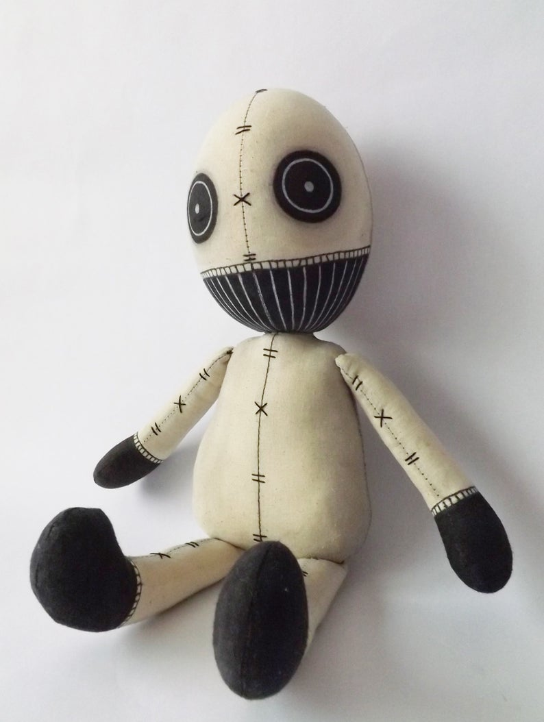 Pin On Childhood Monsters And Boogeymen Handmade Dolls