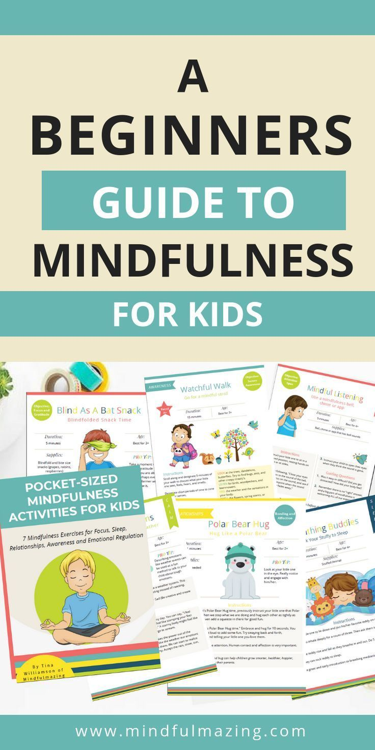 Mindfulness is a great way for kids to calm down and focus. Check out these 15 Mindfulness Exercises...