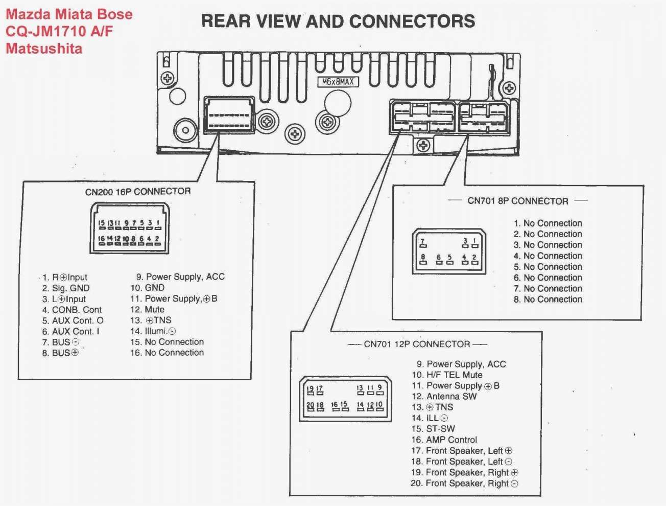 16 Pioneer Car Audio Wiring Diagram
