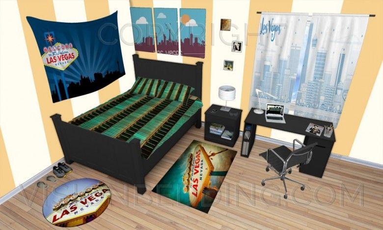 Las Vegas Themed Bedroom lasvegasbedroomdecorideas