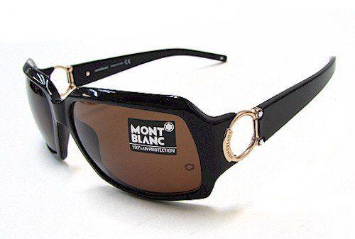 Mont Blanc Mb 171 Sunglasses Black Gold Brown Mb171-b5.