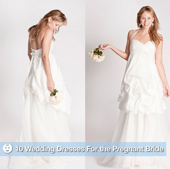 Wedding Dresses For Pregnant Brides: The Best Maternity Wedding Gowns For The Pregnant Bride