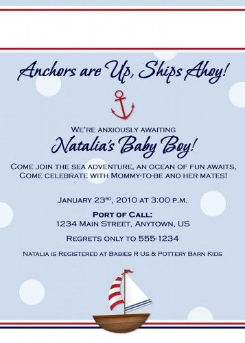 Custom printable baby shower invitation nautical sailboat dots custom printable baby shower invitation nautical sailboat dots filmwisefo Choice Image