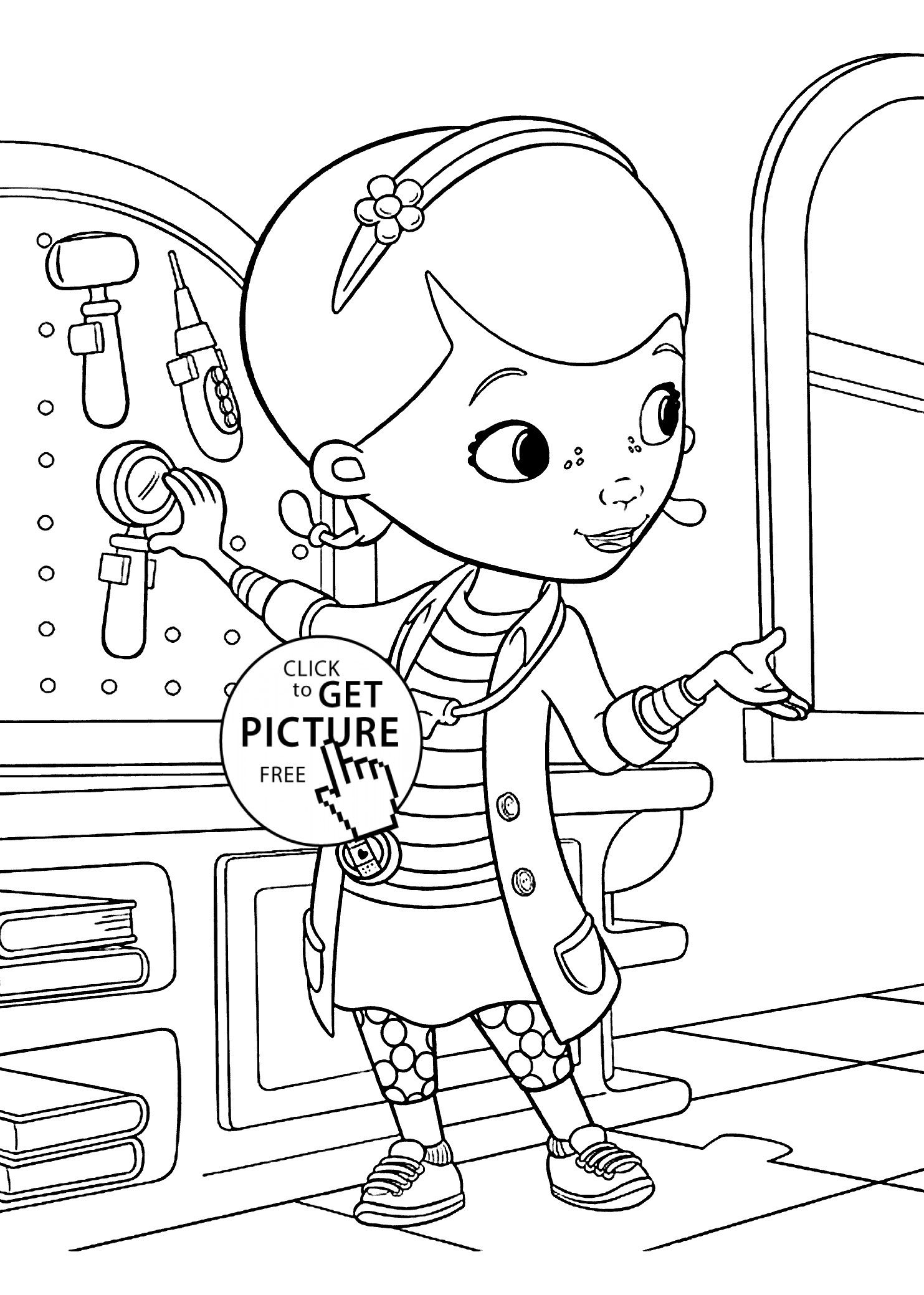 Stewie Coloring Pages Printable Doc Mcstuffins Coloring Pages