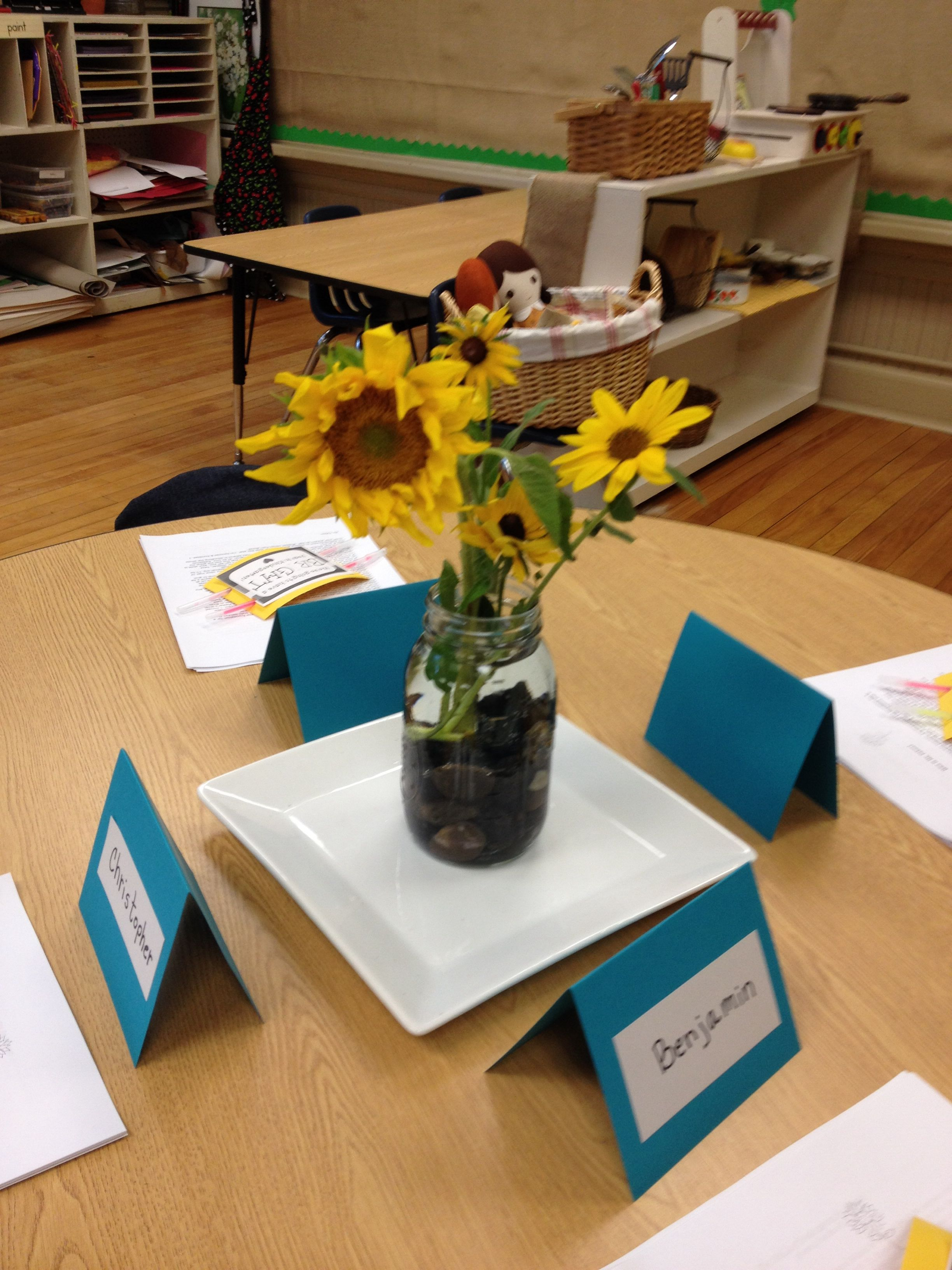 Our First Nature Study Of The Year Sunflowers Charlotte
