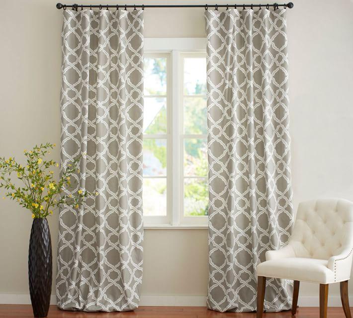 Kendra Trellis Curtain Living Room Drapes Traditional Curtains Curtains Living Room