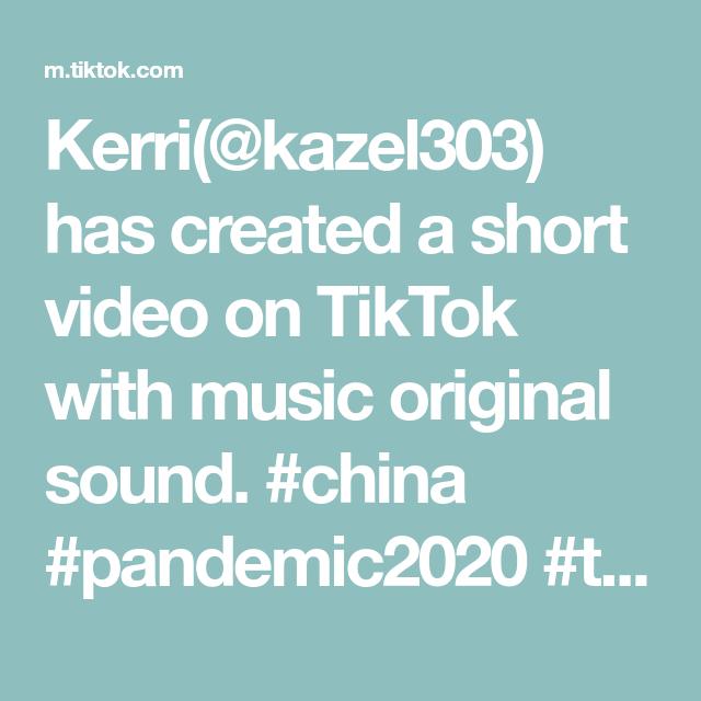 Kerri Kazel303 Has Created A Short Video On Tiktok With Music Original Sound China Pandemic2020 Trump Trending Very Funny Jokes Lip Sync Brooklyn Baby