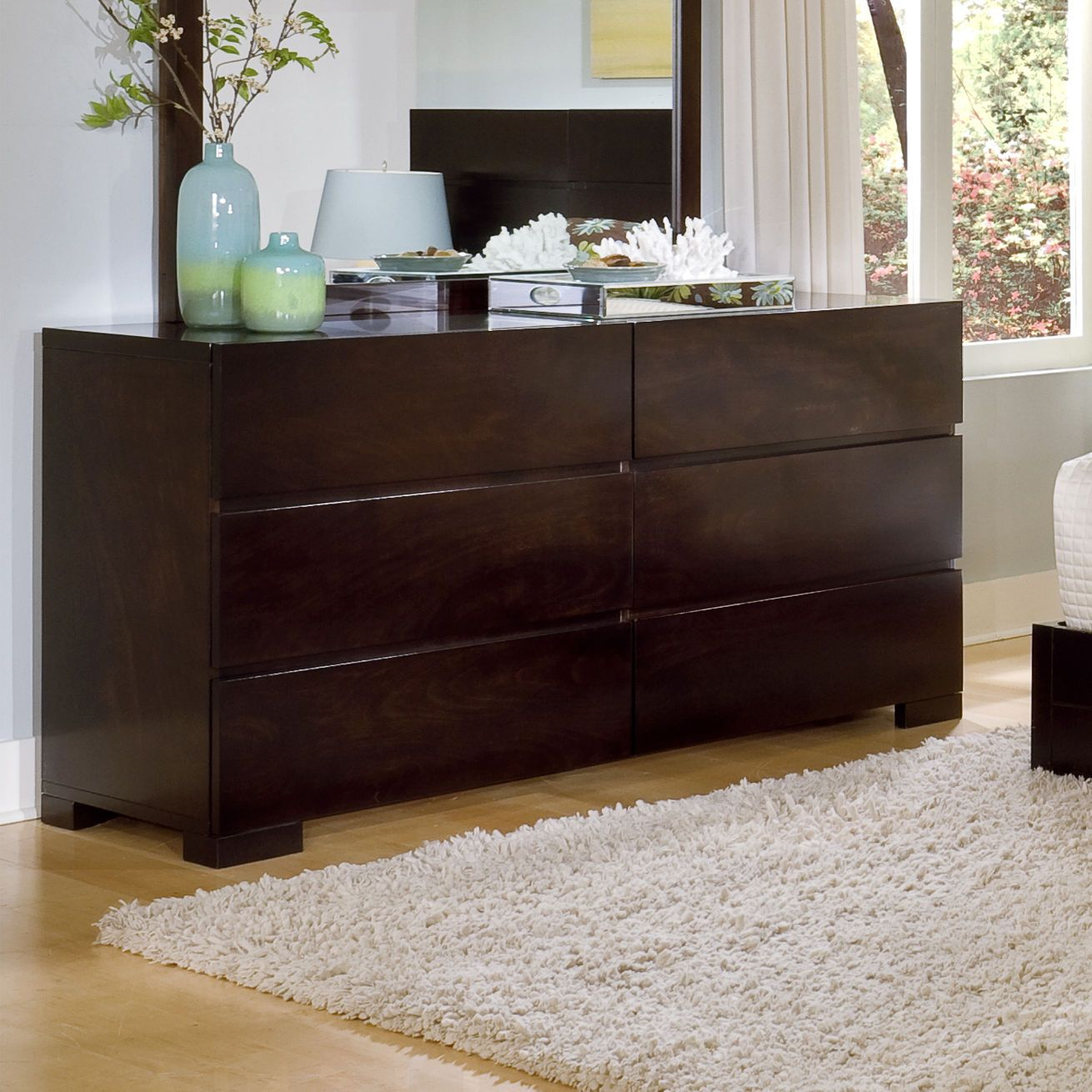 Bedroom Ligna Furniture Cypress 6 Drawer Dresser In Walnut Wayfair 950 Six Drawer Dresser Ligna Furniture Dresser [ 1310 x 1310 Pixel ]