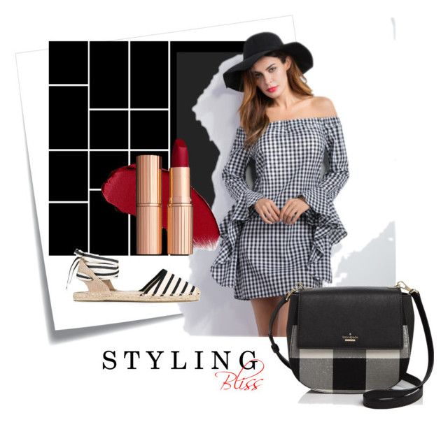 Styling Bliss 👑 by styling-bliss on Polyvore featuring polyvore fashion style Soludos Kate Spade Post-It clothing