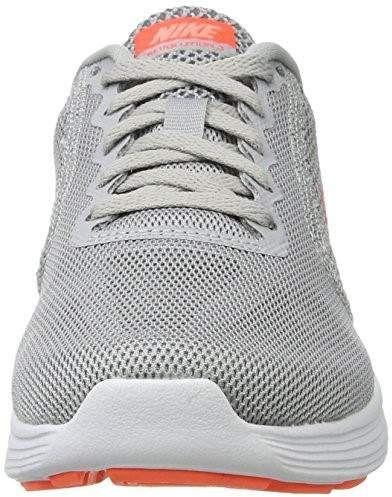 sports shoes ba268 2609e Nike Womens Revolution 3 Running Shoe, Wolf GreyHyper OrangeCool Grey,  8.5 CD US