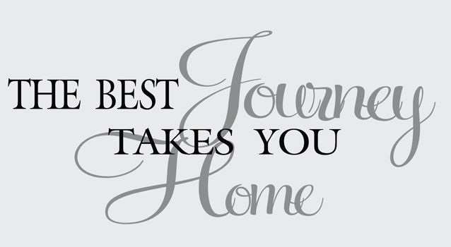 home quotes sayings wall decals stickers best journey vinyl