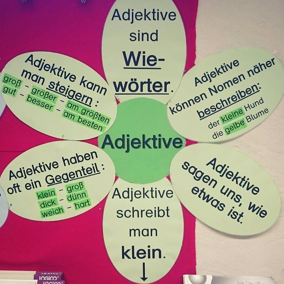 Die 20 besten Ideen zu Adjektive in 20   adjektive, deutsch ...
